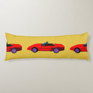 Corvettes Lovers Body Pillow