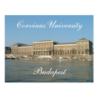 Corvinus University Postcard