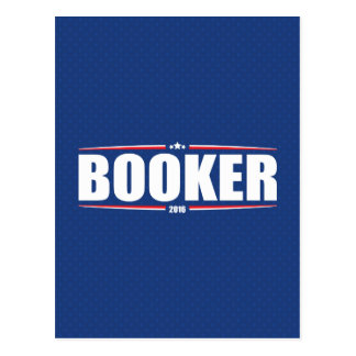 Cory Booker 2016 (Stars & Stripes - Blue) Postcard