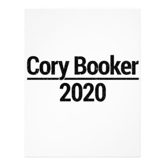 Cory Booker 2020 Letterhead
