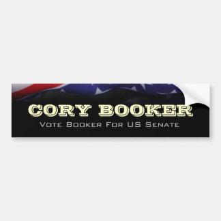 Cory Booker For US Senate Campaign Bumper Sticker