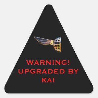COS Warning label