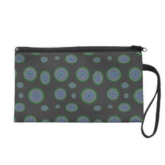 Cosmetic bag cerchio verde