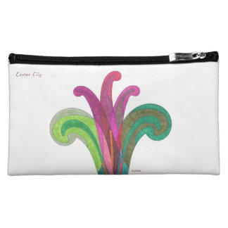 Cosmetic Bag - Easter Lily