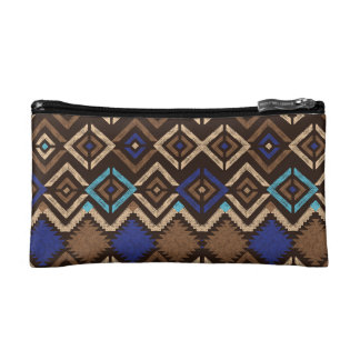 Cosmetic  Bag - Ethnic Stamp
