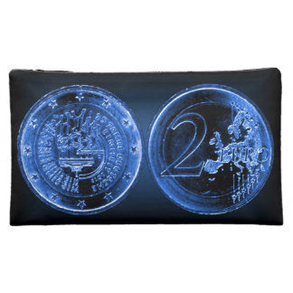 Cosmetic Bag - Germany Commemorative EUR Coin 2015