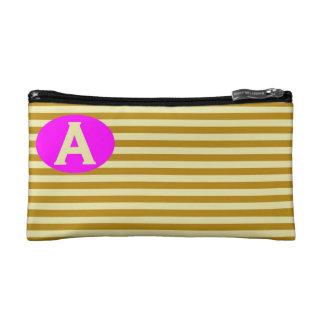 Cosmetic Bag. Initial - A. Makeup Bag