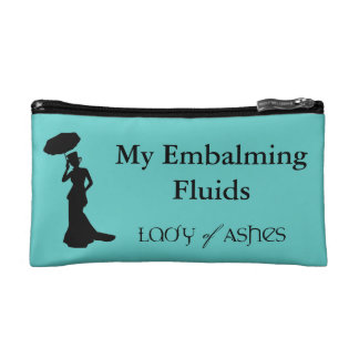 Cosmetic Bag, Lady of Ashes - Embalming Fluid Cosmetic Bag