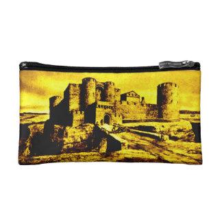 COSMETIC BAG. Liverpool Castle - Liverpool Fort. Makeup Bag