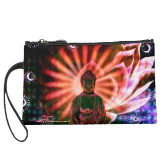 Cosmetic Bag Lotus Buddha Cosmic Sun Buddha