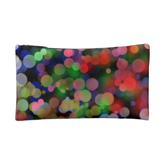 Cosmetic Bag w/ Colorful City Lights