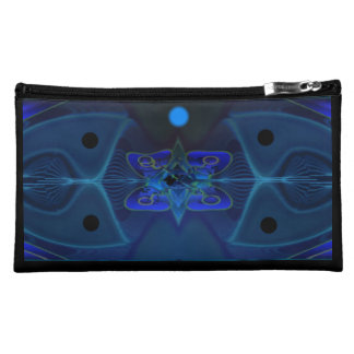 Cosmetic Bag with Digital Art 'Spaceship Interior'