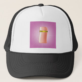 cosmetic icon trucker hat