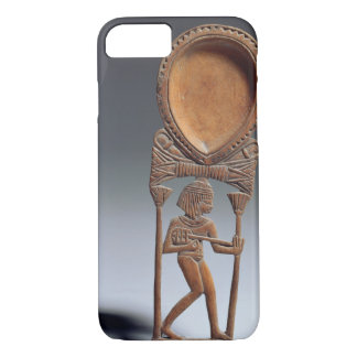 Cosmetic spoon with a figure of a lutenist, New Ki iPhone 7 Case