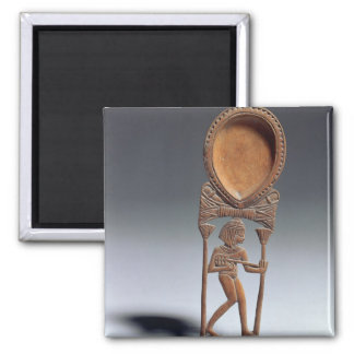 Cosmetic spoon with a figure of a lutenist, New Ki Magnet