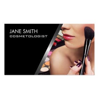 Cosmétologie de Cosmetologist de maquilleur Carte De Visite Standard