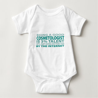 Cosmetologist 3% Talent Baby Bodysuit