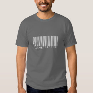 Cosmetologist Bar Code Tee Shirts