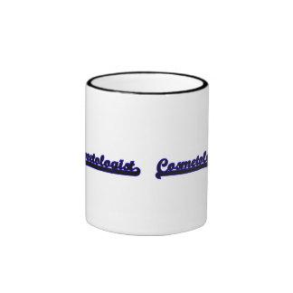 Cosmetologist Classic Job Design Ringer Mug