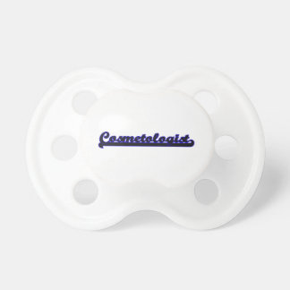 Cosmetologist Classic Job Design Pacifiers