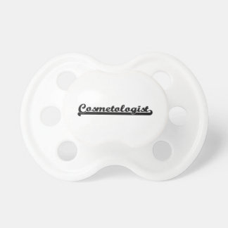 Cosmetologist Classic Job Design Baby Pacifier
