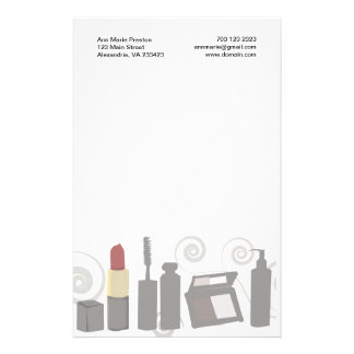 Cosmetologist  Eye Makeup Stationery