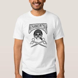 Cosmetologist Skull Shirts