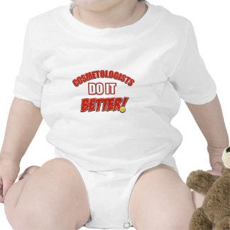 Cosmetologists job designs baby creeper
