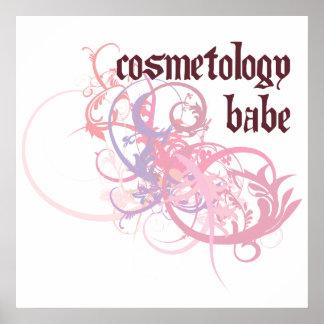 Cosmetology Babe Print