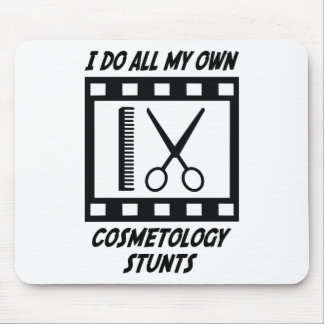 Cosmetology Stunts Mouse Pad