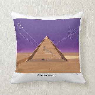 Cosmic Alignment - Throw Pillow