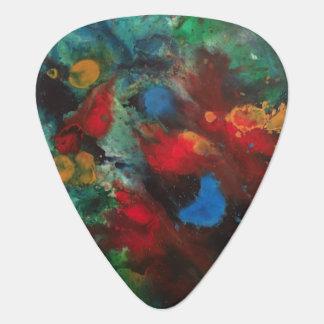 Cosmic Analysis No.1 Guitar Pick