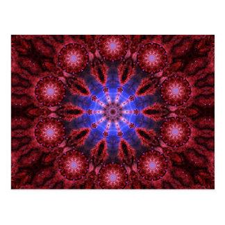 Cosmic Aura Mandala Postcard