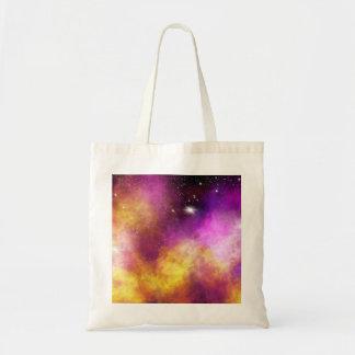 Cosmic Aura Tote Bag