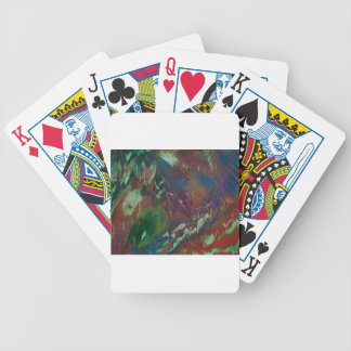 Cosmic Aurora Bicycle Playing Cards