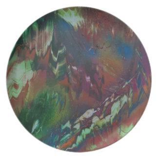 Cosmic Aurora Plate
