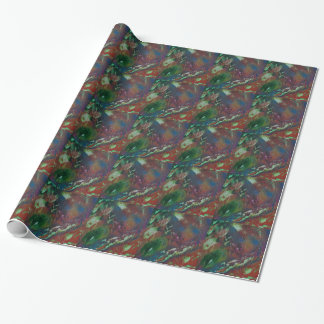 Cosmic Aurora Wrapping Paper