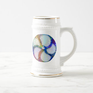 Cosmic Blueray Sparkling Jewels Beer Stein