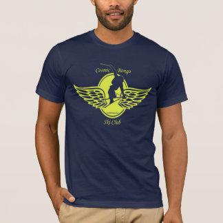 Cosmic bongo ski club T-shirt