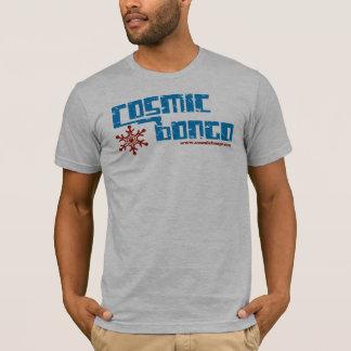 cosmic bongo snow flake t-shirt