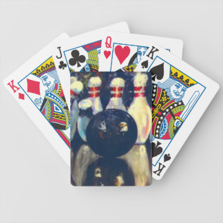 Cosmic Bowling Bicycle Playing Cards