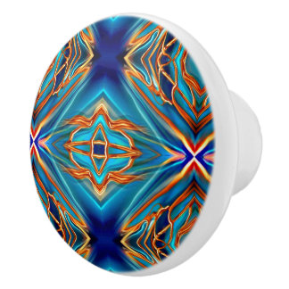 Cosmic Branches Super Nova Ceramic Knob