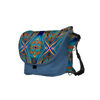 Cosmic Branches Super Nova Courier Bag