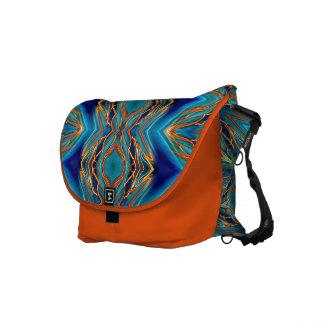 Cosmic Branches Super Nova Courier Bag