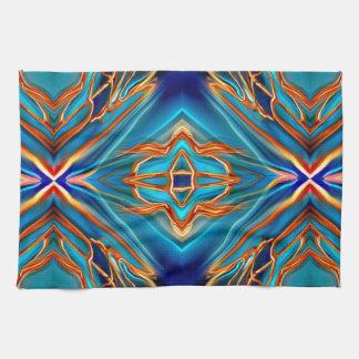 Cosmic Branches Super Nova Kitchen Towel