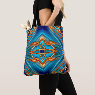 Cosmic Branches Super Nova Tote Bag