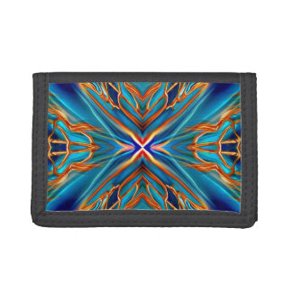 Cosmic Branches Super Nova Trifold Wallet
