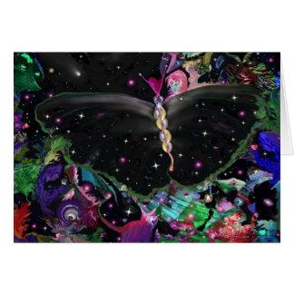 Cosmic Butterfly Card