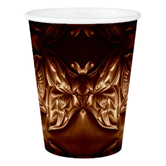 Cosmic Butterfly Paper Cup