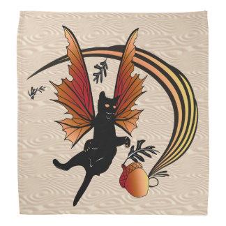 Cosmic Cat Acorn Bandana